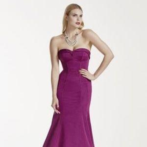 Zac Posen Purple Formal Gown